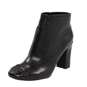 Rockport Women's Helena Leather Stud Ankle Bootie